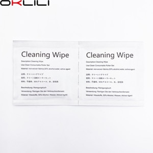 100X PA03950-0419 FI-C100CW Moist Pre-Moist Moistened Cleaning Wipe Wipes 6x6cm Cleaning Supplies for Fujitsu Scanner Consumable
