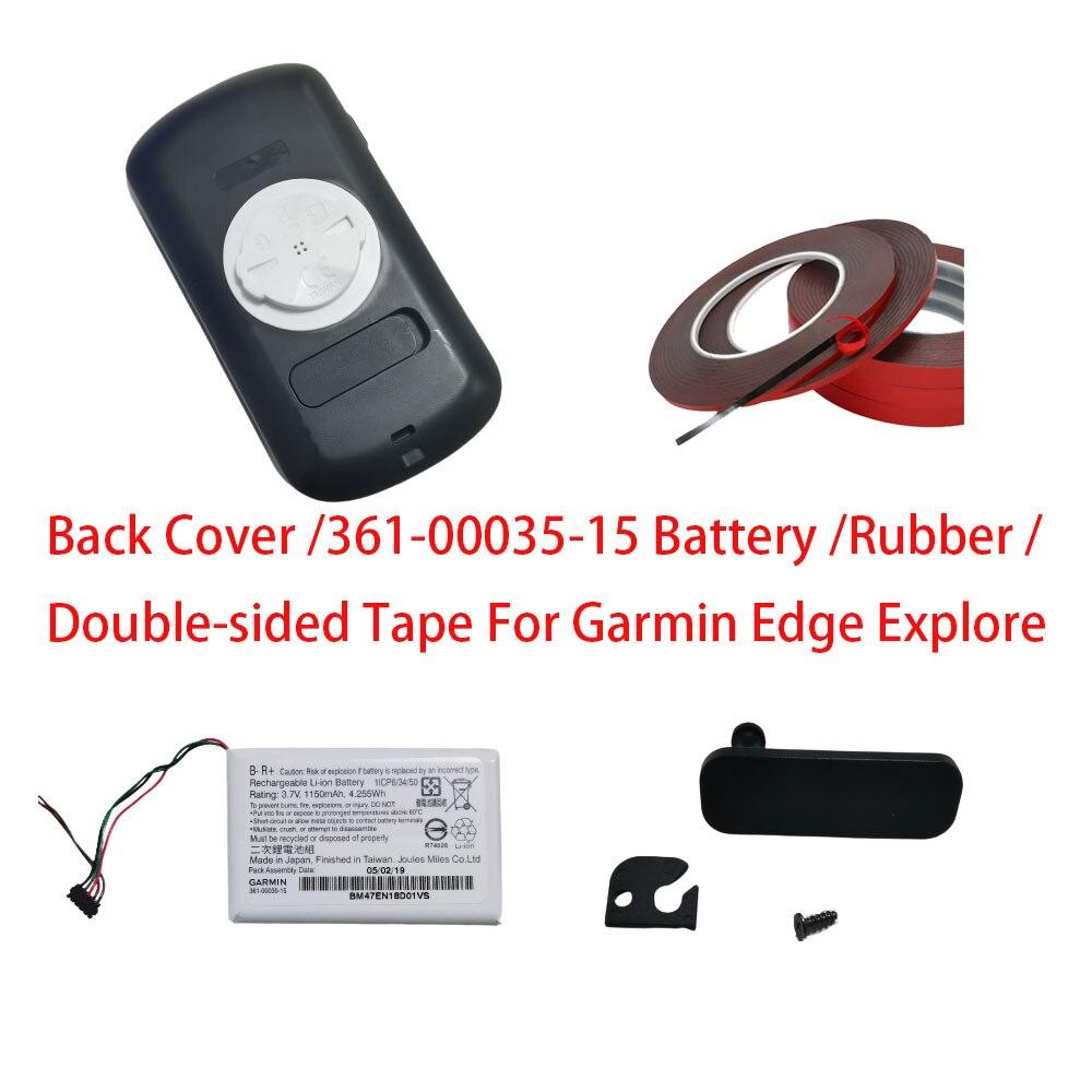 para Garmin Edge Traseira com Bateria Tampa de Borracha Explorar Capa Bateria Usb Impermeável Substituir – 361-00035-15
