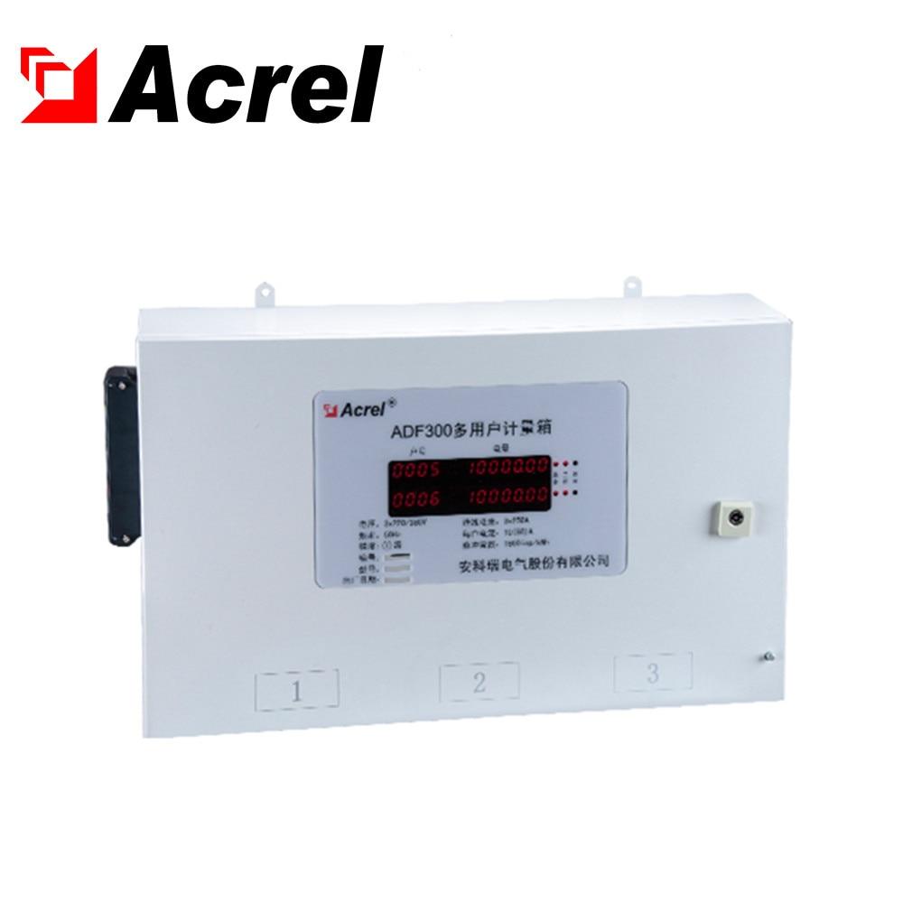 Acrel ADF300-I-9D(3) цепь 3 Трехфазная система 9 однофазный многоконтурная счетчик электроэнергии с предоплатой