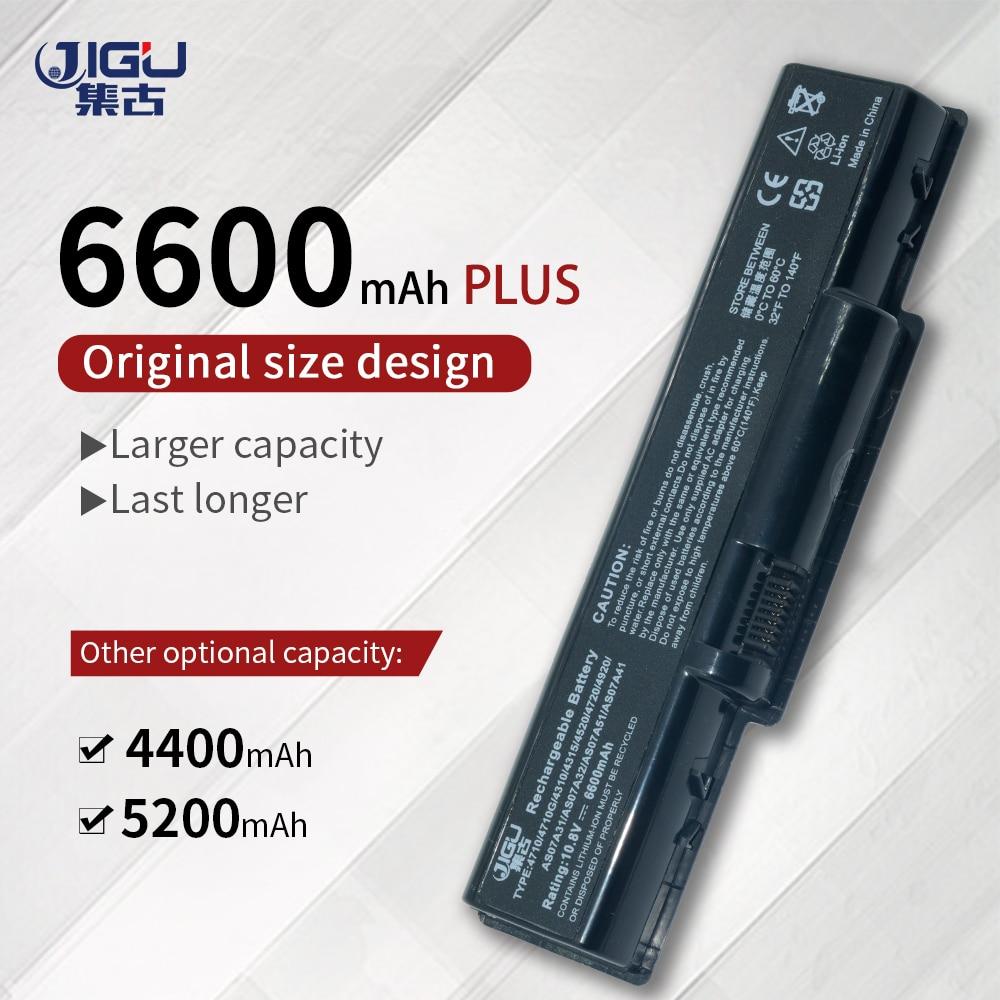 JIGU batería del ordenador portátil para Acer Aspire 5536 5536G 5542G 5740G...
