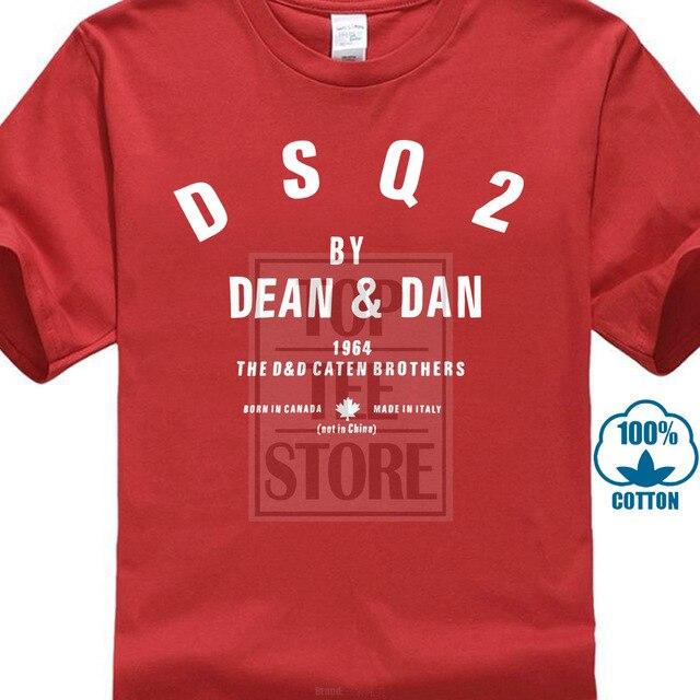 Los hombres T camisa blanca T camisa camisetas camiseta negra nueva Dsq2 Unisex T camisa de manga corta de los hombres Slim Fit T Shirt Casual básica camisetas