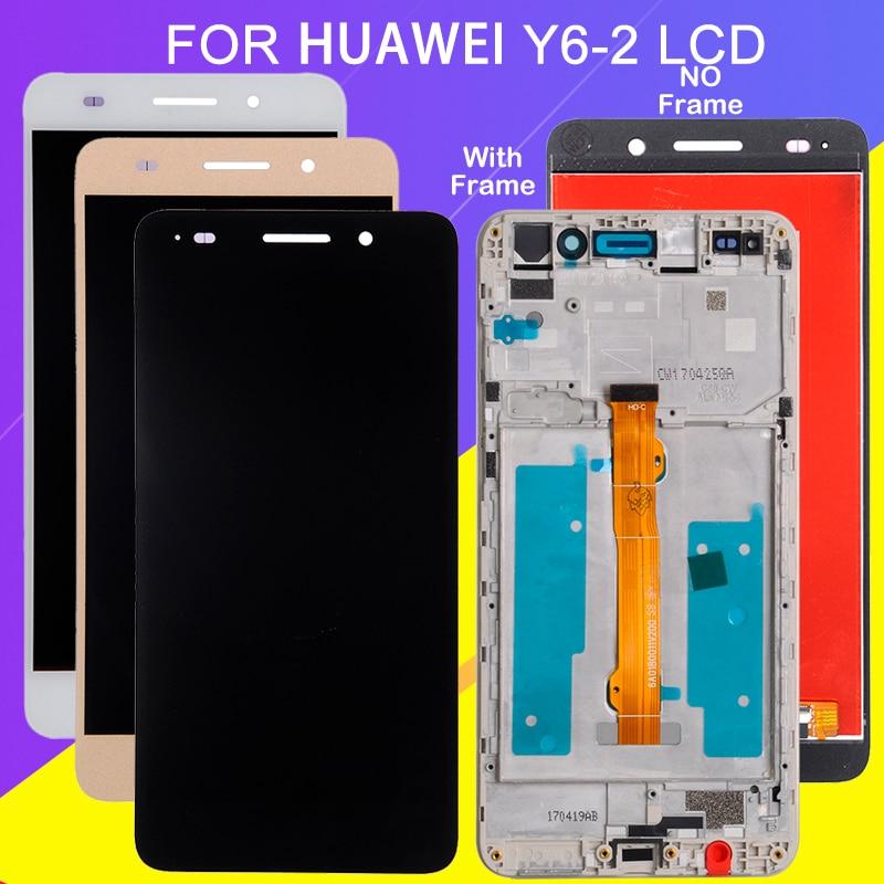 Catteny Honor 5A para Huawei Y6 ii LCD MONTAJE DE digitalizador con pantalla táctil Y6 2 Lcd Y6 II CAM-L23 L03 L21 AL00 pantalla
