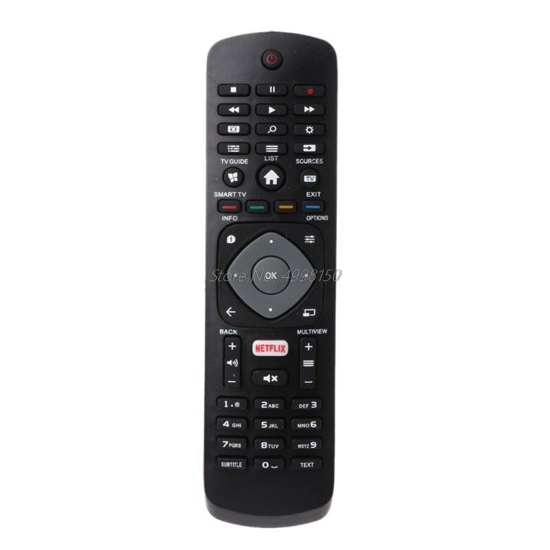 Preta do Controlador de Controle Remoto para Philips Substituição Netflix Smart 43pus6162 398gr08bephn0011hl 398gr08bephn0012ht 1635008714