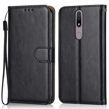 Luxury Leather Case for On Nokia 2.4 TA-1277, TA-1275, TA-1274, TA-1270 Wallet Stand Flip Case Phone