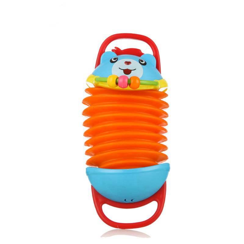 Juguetes infantiles pequeños rompecabezas de acordeón instrumentos de educación Musical para chico