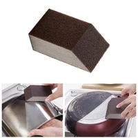 sponge kitchen cleaning brush remove stains rust bowl washing sponge household kitchen pot pan cleaning tools tlz
