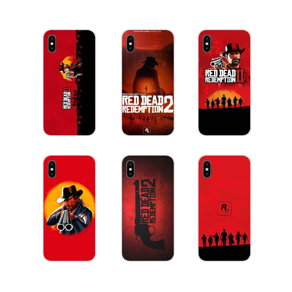 For Huawei Nova 2 3 2i 3i Y6 Y7 Y9 Prime Pro GR3 GR5 2017 2018 2019 Y5II Y6II Hot Red Dead Redemption 2 Silicone Phone Skin Case