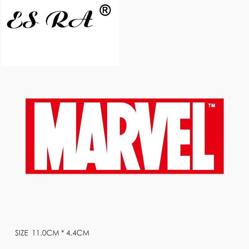 1 unidad, pegatina Marvel para portátil, pegatinas impermeables de PVC con Logo de Anime, juguetes, jarra para portátil, maleta para cuadernos, decorar para niños