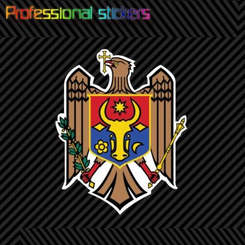 Молдавский герб Стикеры Наклейка самоклеющиеся виниловые флаг Молдовы МДА MD Стикеры для автомобилей, велосипеды, ноутбуки, мопедов