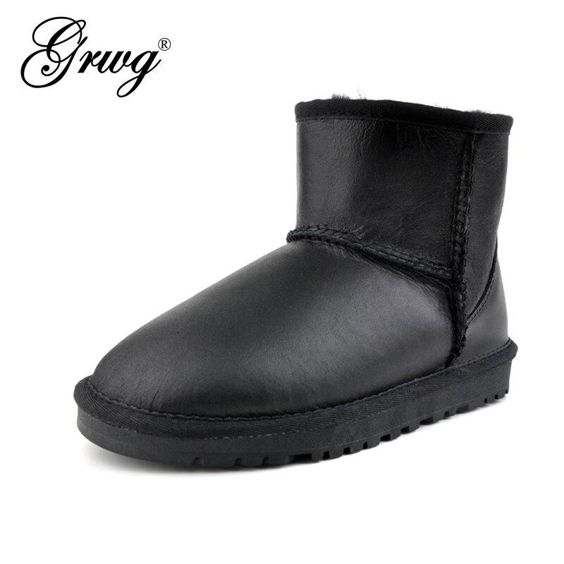 Wholesale/retail High Quality Women Australia Classic Snow Boots Genuine sheepskin Leather Warm Winter Shoes