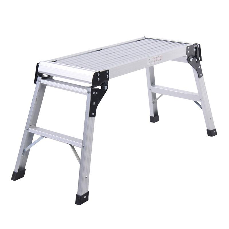 كرسي شبه منحرف مصنوع من سبائك الألومنيوم وخفيف الوزن ومقاعد للخطوات والسلالم كرسي للغسيل وكرسي حمام ودش للقدم