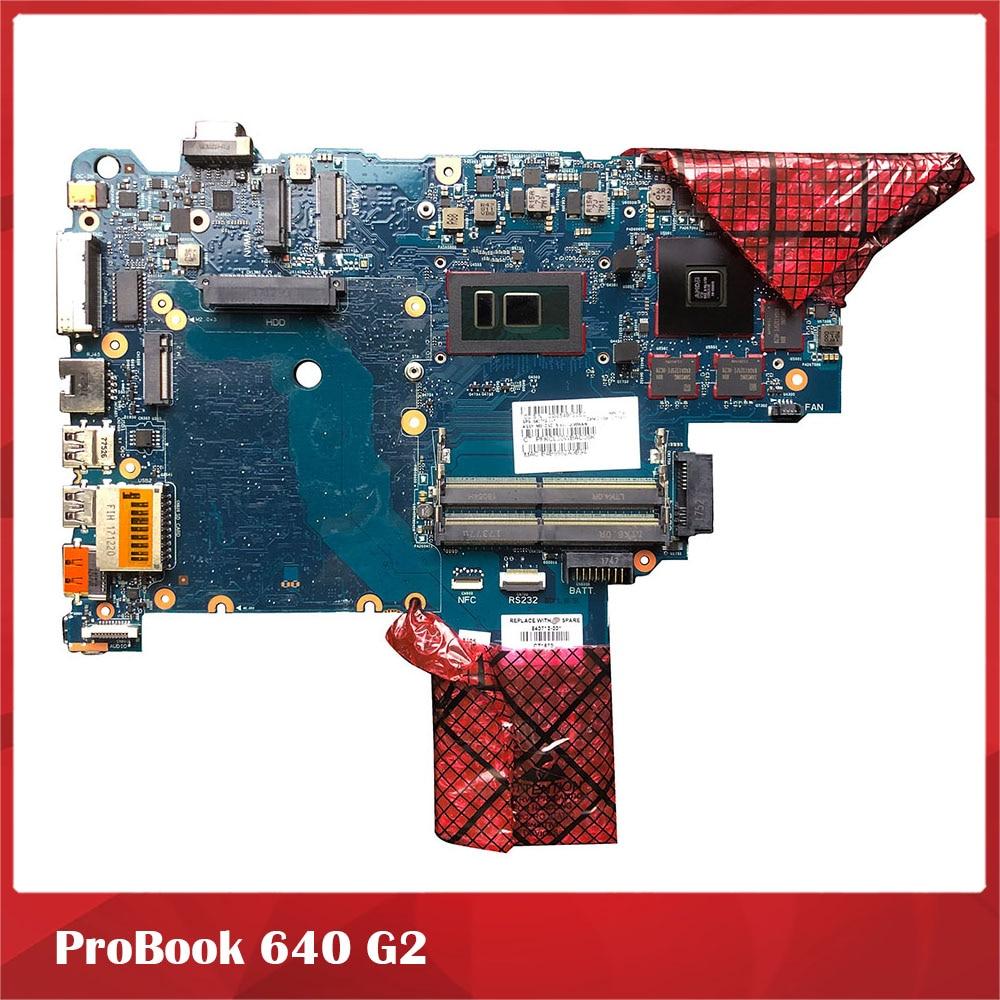 لوحة أم للكمبيوتر المحمول لبروبوك 640 G2 6050A2723701 840716-001 840717-001 بجودة جيدة
