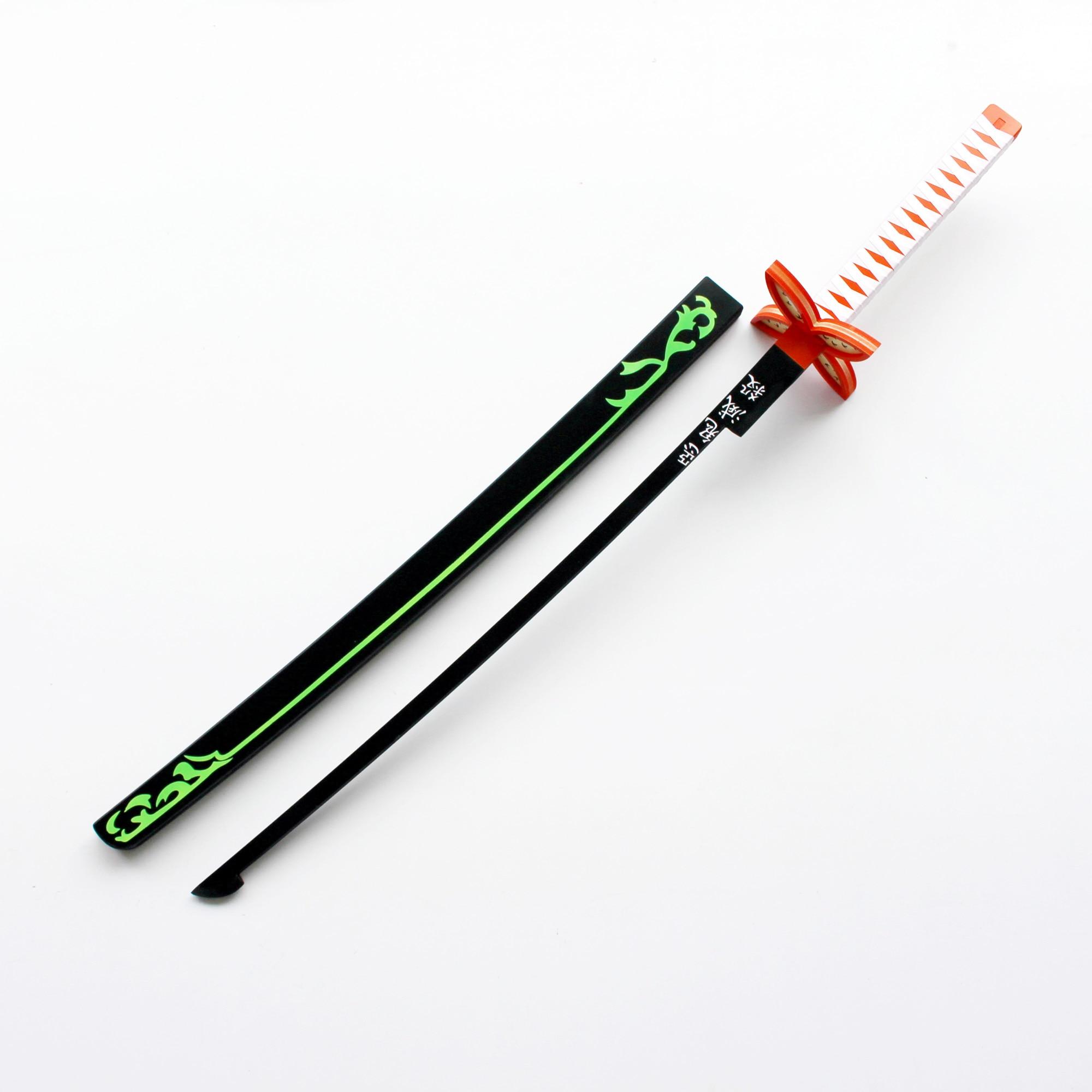 Kochou Shinobu Cosplay espada demonio asesino Kimetsu no Yaiba traje armas Prop