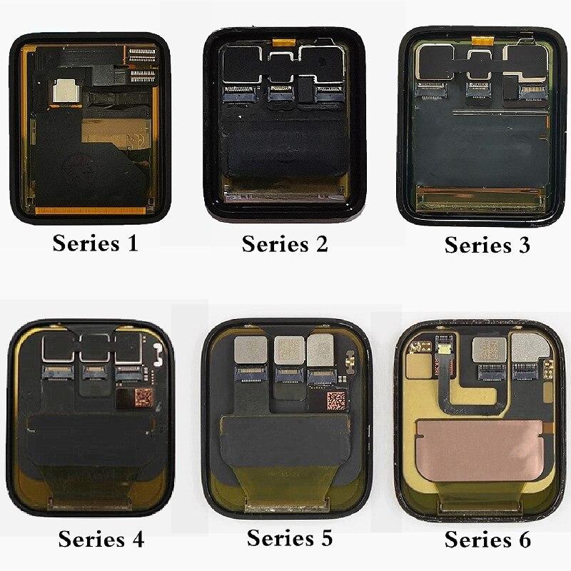 For Apple Watch Series 4 Series 5 LCD Display Screen For Apple Watch 1 Series 2 LCD Touch Screen For iWatch 3 iWatch 6 Display enlarge