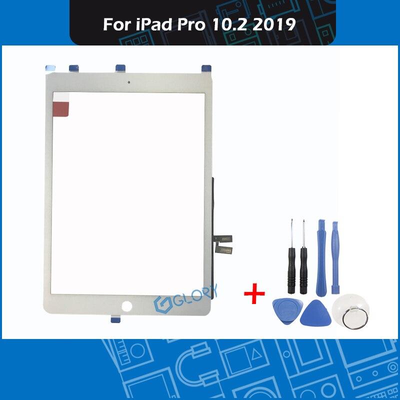 Pantalla táctil para iPad Pro 10,2 A2197 A2198 A2200 A2199 pantalla LCD piezas de repuesto de vidrio exterior 2019