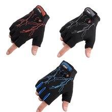 Унисекс Перчатки для фитнеса, тренажерного зала, для поднятия веса, половина пальца, Кроссфит, для тренировок, бодибилдинга, для велоспорта, велосипеда, для спорта на открытом воздухе, перчатки