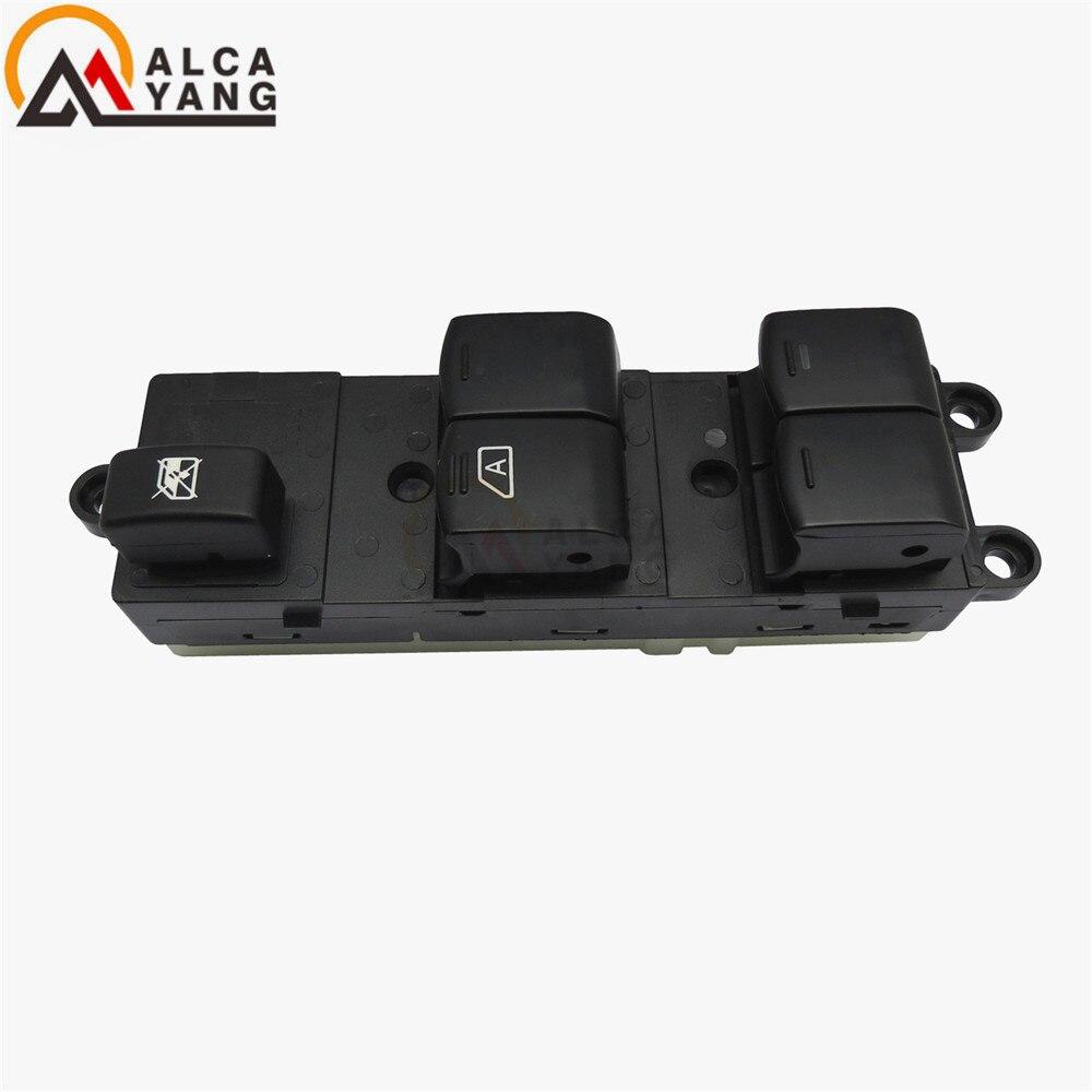 Мастер электрический выключатель стеклоподъемника для Nissan Qashqai J10 2,0 dCi 4WD Navara D40 автомобилей QZ 25401JD001 25401BB60B