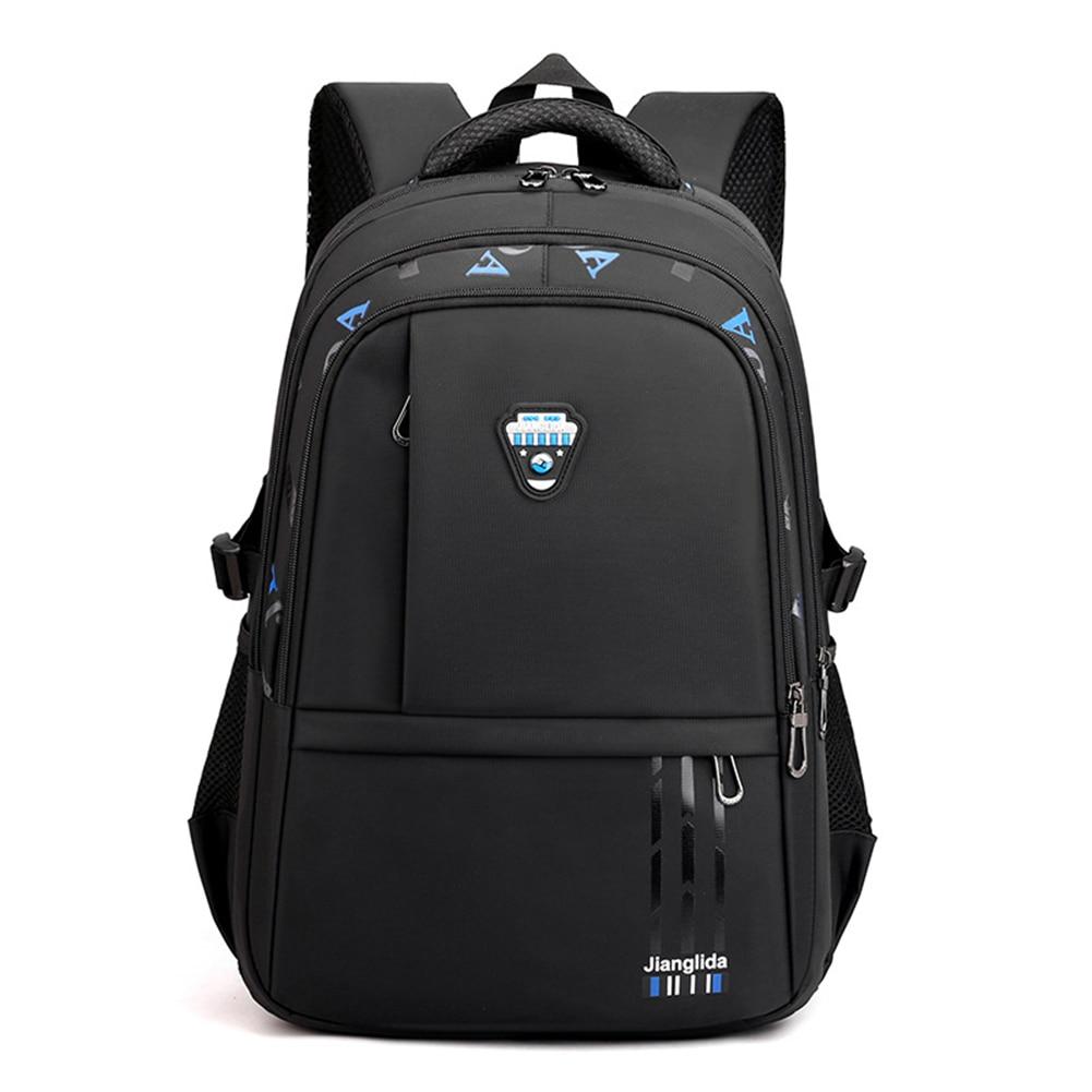 Школьный рюкзак для мальчиков, мужской рюкзак для начальной школы, нейлоновый Прочный детский рюкзак для книг, дорожный рюкзак