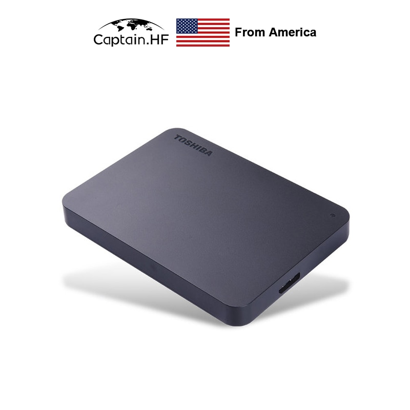 US Captain Canvio Premium BASICS A3 Series USB 3.0 Portable Hard Disk, Storage Security Software 1TB 2TB