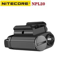 Original NITECORE NPL20 Tactical Gun Lamp 460Lumens LED Spotlight Protable Waterproof Hard Light Tac