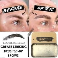 1pc 3d feathery brows setting gel waterproof soap brow makeup kit lasting eyebrow gel women eyebrow tint pomade cosmetics