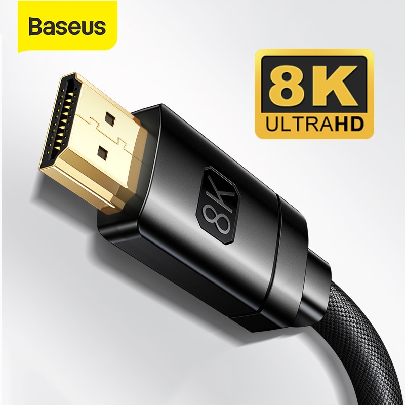 Baseus 8K HDMI-compatible Cable for Xiaomi Mi Box 8K/60Hz 4K/120HZ 48Gbps Digital Cable for PS5 PS4