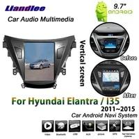 car android multimedia system for hyundai elantrai35 2011 2012 2013 2014 2015 radio vertical hd screen gps navigation