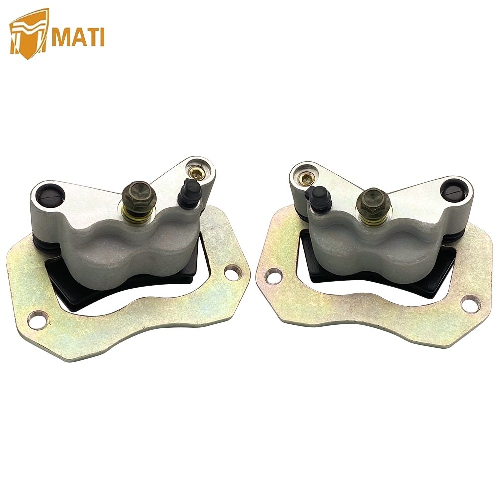 Mati Rear Left Right Brake Caliper Assembly for ATV Polaris General 1000 RZR 900 900S 1000 1000S with Pads 1912274 1912275 rear right brake caliper for toyota avensis saloon estate zr adt27 47830 05030