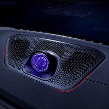 Haut-parleur de tableau de bord de voiture avec lumière ambiante pour BMW G20 série 3 Tweeter Audio haut-parleur contrôle central garniture de couvercle de boîtier extérieur