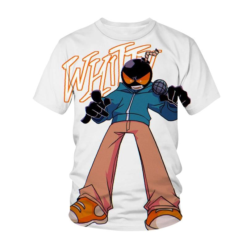 Camiseta de manga corta con estampado 3D para adultos, camisa creativa de...