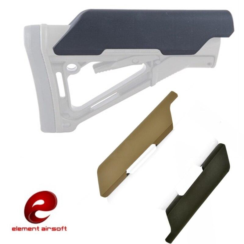 Element Airsoft Low Style Cheek Riser AR M4 Stock Hunting Tactical Softair Gun Accessories EX052