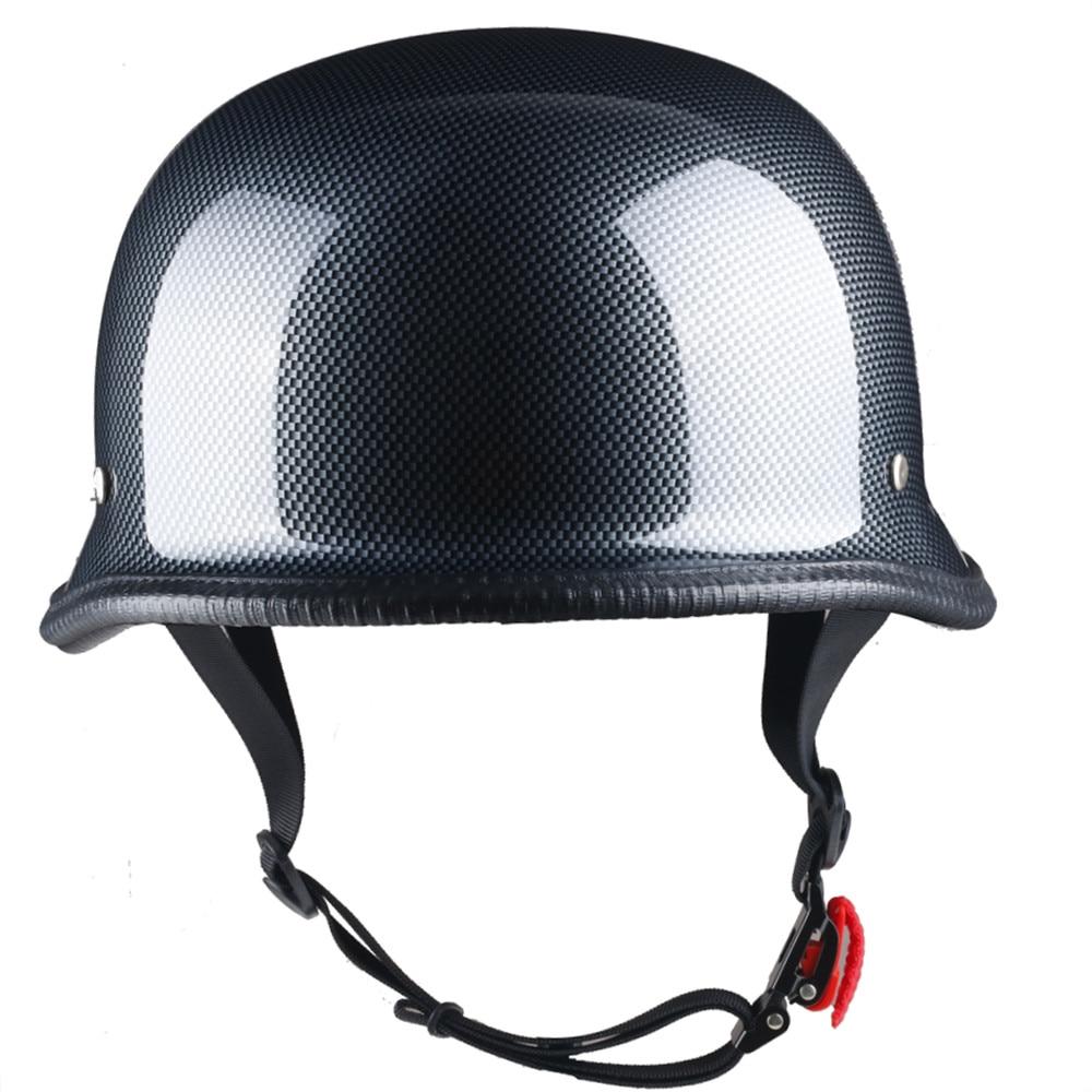Light-Weighted High Grade ABS German Motorcycle Helmet Factory Wholesale Price MSHH8679 enlarge