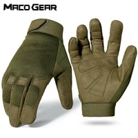 outdoor sports tactical gloves training army climbing shooting cycling ski bicycle wearproof riding mtb road bike mittens men