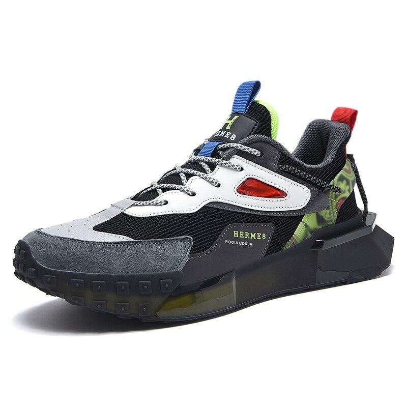 رجل حذاء كاجوال 2021 أحذية رياضية مريحة الرجال مصمم تنفس أحذية رياضية موضة قوس قزح وحيد رجالي المدربين Zapatos Hombre