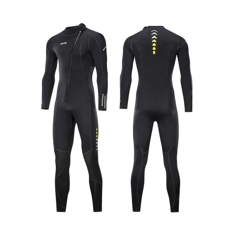 3mm neoprene men's and women's warm clothes, a diving suit, underwater fishing, diving, surfing