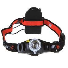 Head Lamp Zoomable 90 Degree Adjustable Headlight Flashlight Led Headlamps