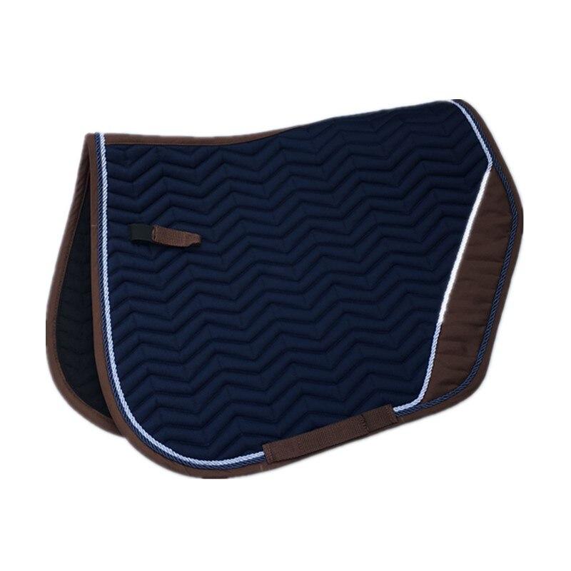 Cotton Composite Saddle Horse Saddle Pad   Blue  Saddle Pads For Horse