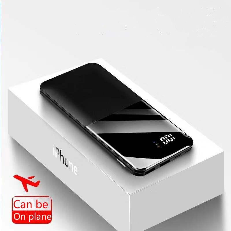 2020 30000mah внешний аккумулятор портативное зарядное устройство 30000 mAh USB внешний аккумулятор зарядное устройство для XiaomiMi 9 8 iPhone 7