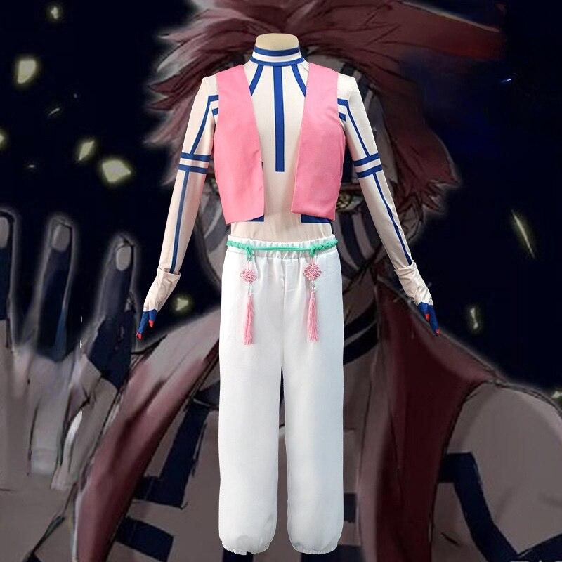 Костюм для косплея из японского аниме «рассекающий демонов», сценические костюмы «No yaibath First Three Akaza» на Хэллоуин