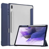 for samsung galaxy tab s7 plus t970 t975 case with pencil holder cover for galaxy tab s7 fe t736 2021 2020 auto sleep wake funda