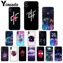 Yinuoda pnl qlf 랩퍼 tpu 소프트 고품질 휴대 전화 케이스 apple iphone 8 7 6 6 s plus x xs max 5 5 s se xr 11 11pro max 커버