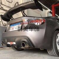 for Subaru BRZ Toyota 86 GT86 2012-2016 Carbon and metal bracket GT spoiler screw fixing