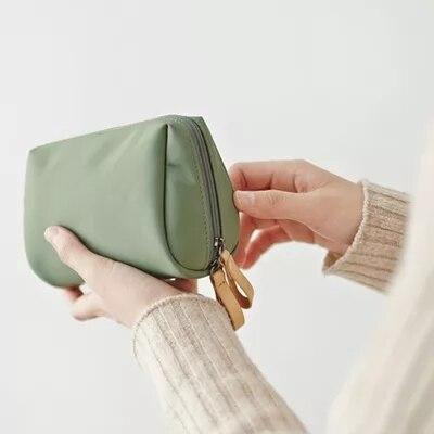 Corea Mini bolsa de almacenamiento para mujeres bolsa de Almacenamiento Simple verde...