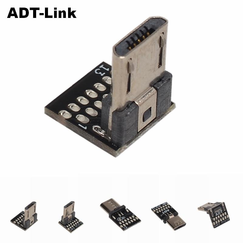 Cable de soldadura de pies planos Micro macho, conector Vertical y recto,...