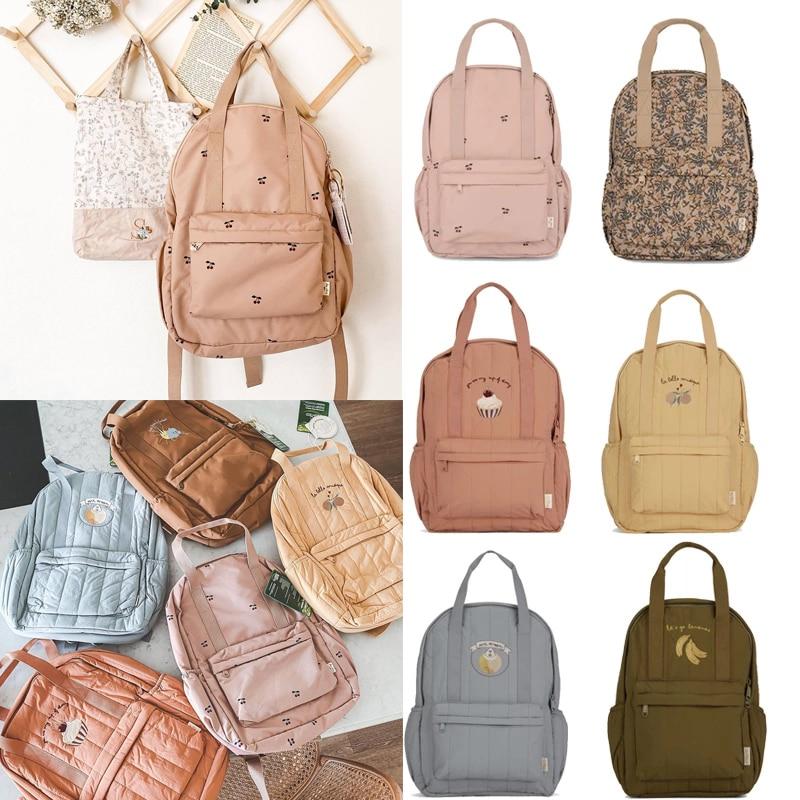 Брендовые Детские школьные ранцы, красивые винтажные рюкзаки для маленьких мальчиков и девочек, брендовые Детские сумки с рисунком торта, в...
