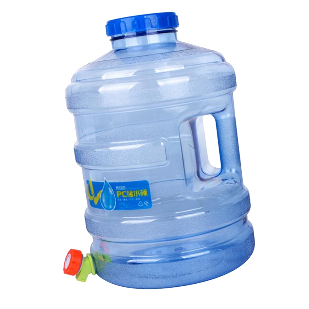 MagiDeal 15L Picnic Outdoor Camping Water Carrier Canister Water Container