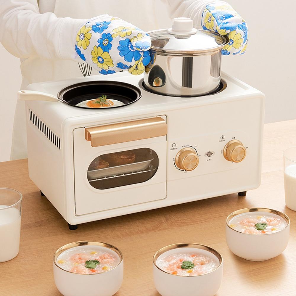 آلة الإفطار فرن طباخ التلقائي
