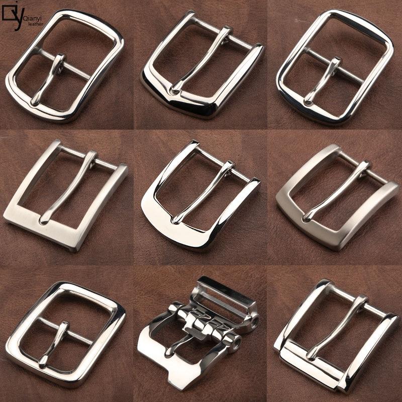 4.0cm stainless steel belt buckle belt Buckle New high-grade leisure 304 anti-allergy needle buckle belt buckle accessories