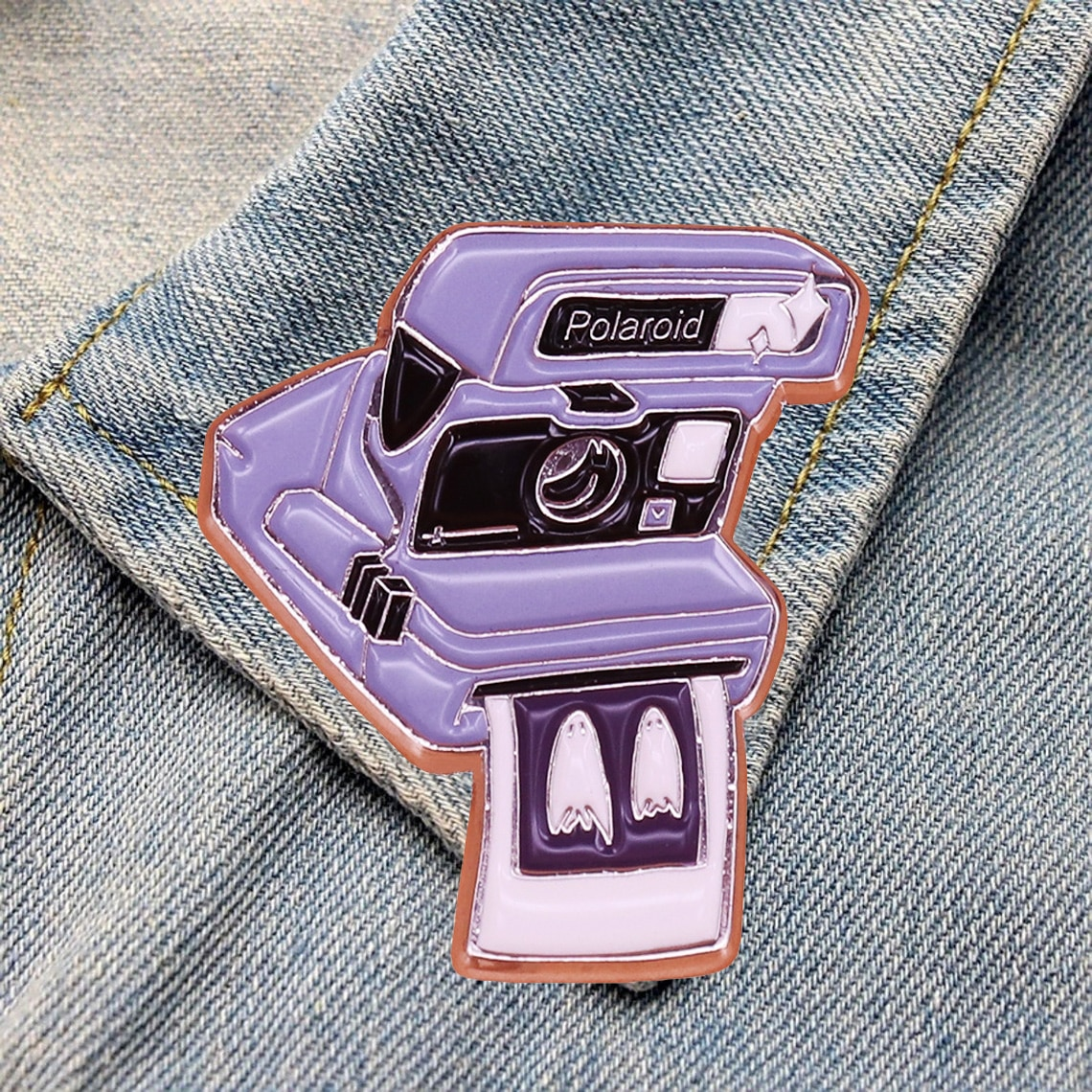 DZ690 Funny Ghost Enamel Pin Movie Brooches Bag Lapel Pin Cartoon Holiday Badge Jewelry Gift for Kid