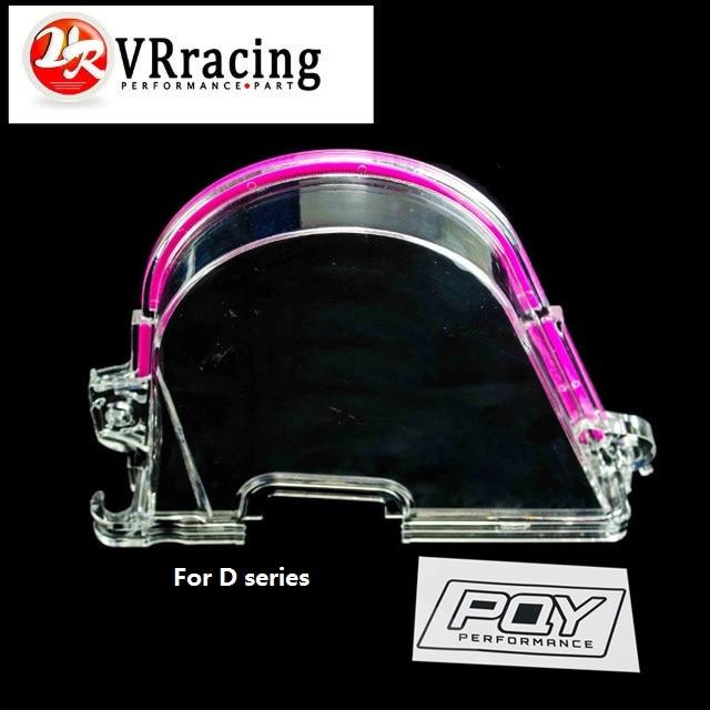 VR RACING-CLEAR CAM зубчатая передача ременная крышка турбо кулачок шкив для HONDA CIVIC 96-00 D15 D16 VR6337